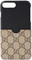 Gucci Gg Supreme Canvas Iphone 7 Case