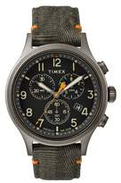 Timex R Allied Chronograph Canvas Strap Watch, 42mm