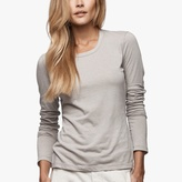 James Perse Cotton Linen Melange Tee