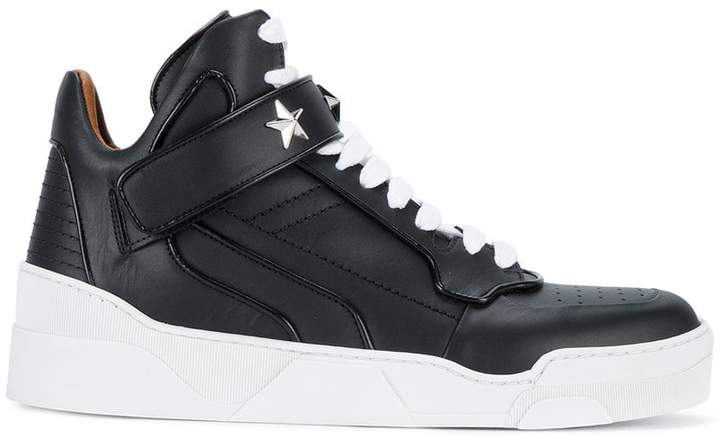 Givenchy star embellished high-top sneakers