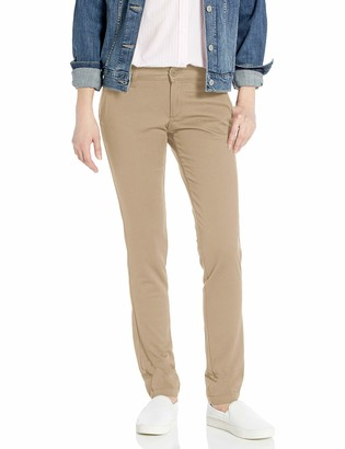 Dickies Women's Mid-Rise Skinny Stretch Twill Pant