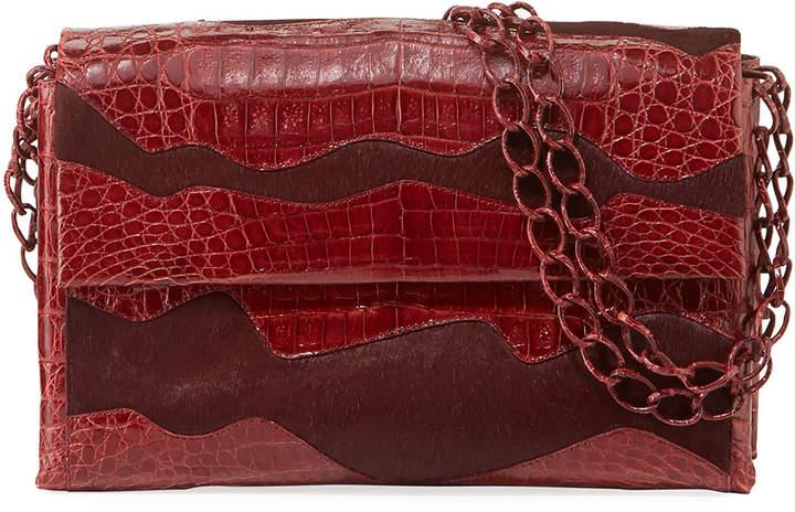 Nancy Gonzalez Madison Double-Chain Medium Shoulder Bag