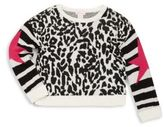 Design History Girl's Printed Cropped Top