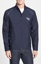 Cutter & Buck Men's Big & Tall 'Tennessee Titans - Beacon' Weathertec Wind & Water Resistant Jacket