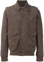 Daniele Alessandrini pocket zipped jacket