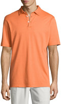 Peter Millar Perfect Piqué Polo Shirt, Orange