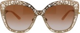 Dolce & Gabbana Metal Butterfly Sunglasses