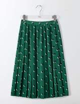 Boden Annabelle Pleated Skirt