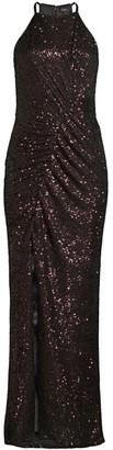 Parker Black Giorgia Sequin Halter Gown