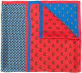 Marc Cain animal print scarf