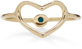 Jordan Askill Hidden Turquoise Heart Ring