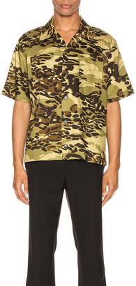 Givenchy Hawaii Shirt in Light Khaki | FWRD