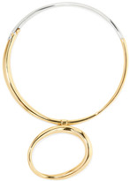 Charlotte Chesnais Koï Gold-dipped And Silver Choker - one size