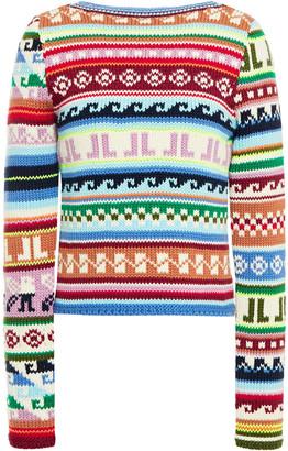 Lanvin Fair Isle Wool-blend Sweater