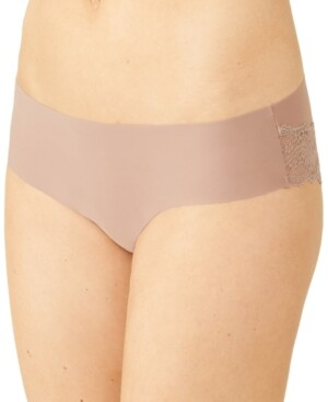 B.Tempt'd Women's b.bare Cheeky Lace-Trim Hipster Underwear 976367