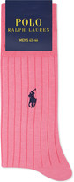 Polo Ralph Lauren Ribbed Egyptian cotton socks