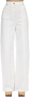 Aalto Cotton Blend Denim Jeans W/stitch Detail