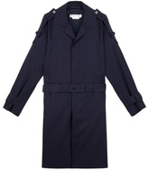 Marni Double Belt Wool Twill Trench