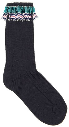 Alanui Fringed Socks