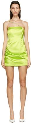 GAUGE81 Green Pasto Short Dress