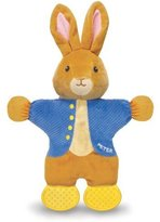 Kids Preferred Peter Rabbit Teether Toy, The World of Beatrix Potter by
