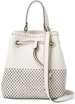 Furla Women's Stacy S Drawstring Leather Bucket Bag
