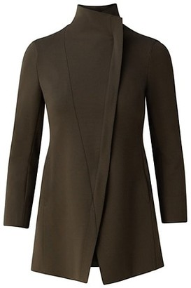 Akris Punto Asymmetric Slim Jacket