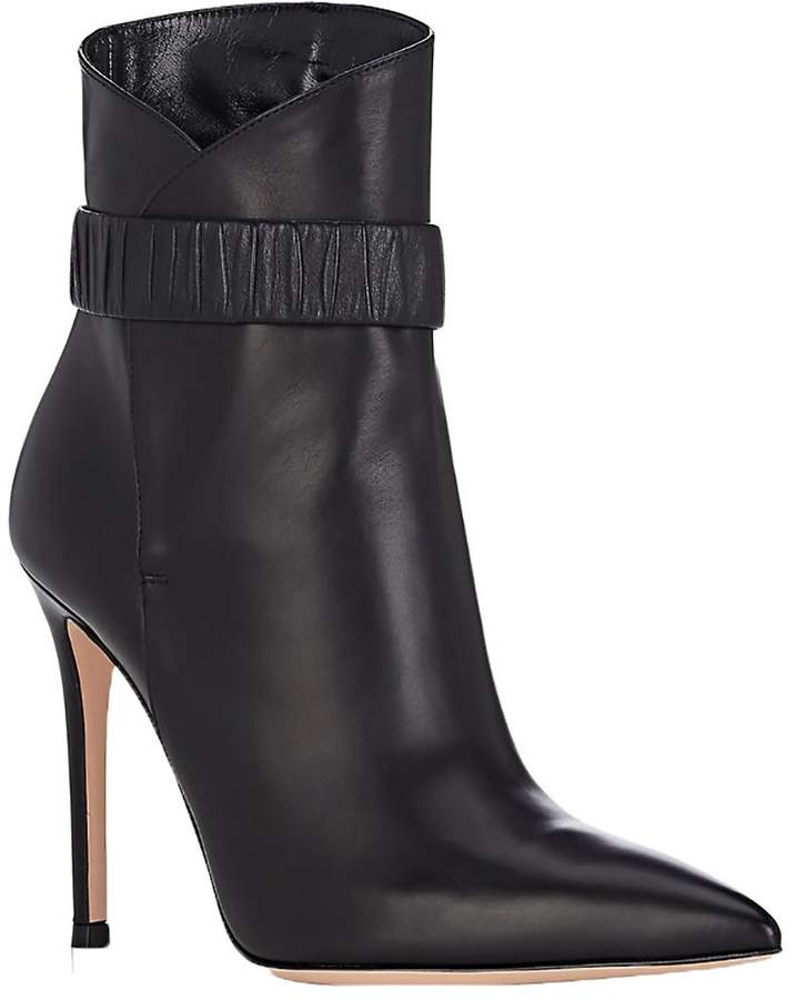 Gianvito Rossi Leather ankle bootie