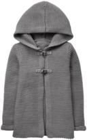 Crazy 8 Toggle Hooded Cardigan