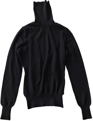 Alexander McQueen Black Cashmere Tops