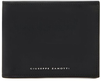 Giuseppe Zanotti engraved logo wallet