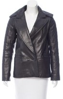 Alexander Wang Double-Breasted Leather Jacket