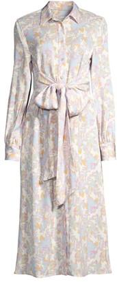 Rebecca Vallance Fleur Floral Shirt Dress