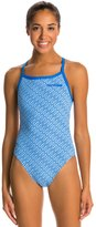 Arena Diamonds Challenge Back One Piece Swimsuit 7534742