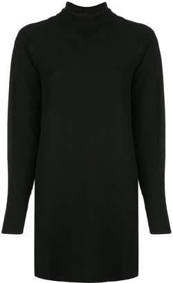 Rag & Bone turtle neck jersey short dress