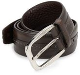 Brioni Tang Buckle Leather Belt