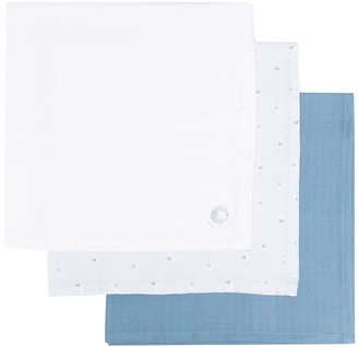 Absorba Three-Pack Graphic-Print Handkerchief