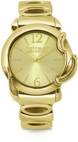 Just Cavalli Eden - Golden Dial Bracelet Watch