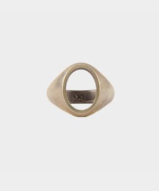 M. Cohen Ellipse Ring in Silver