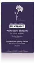 Klorane Cornflower Smoothing and Relaxing Patches for Tired Eyes -7 sets