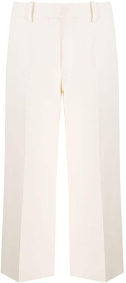 Valentino Cropped Tailored Trousers