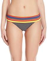 Jag Women's Chromatic Geo Bikini Bottom