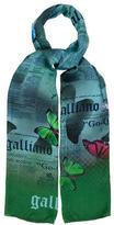 John Galliano Multicolor Printed Scarf