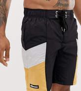 Ellesse Padre swim short with orange and white exclusive at ASOS