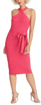 Rachel Roy Knit Halter Dress