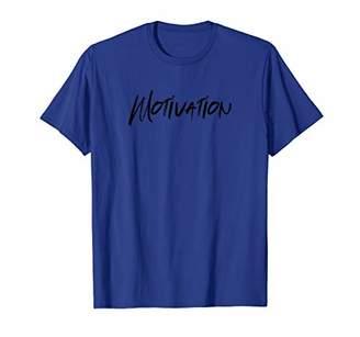 Mens MOTIVATION - Gym Workout Fitness Motivation Tee Design E332 T-Shirt