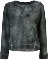 Avant Toi faded effect jumper - women - Cotton/Linen/Flax/Polyamide - S