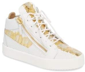 Giuseppe Zanotti May London Mid Top Sneaker