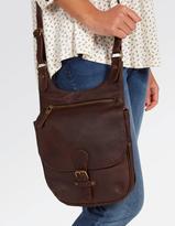 Fat Face Hannah Oiled Leather Cross Body Bag