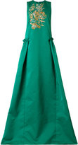 Rochas sequin embroidery gown - women - Polyester - 40